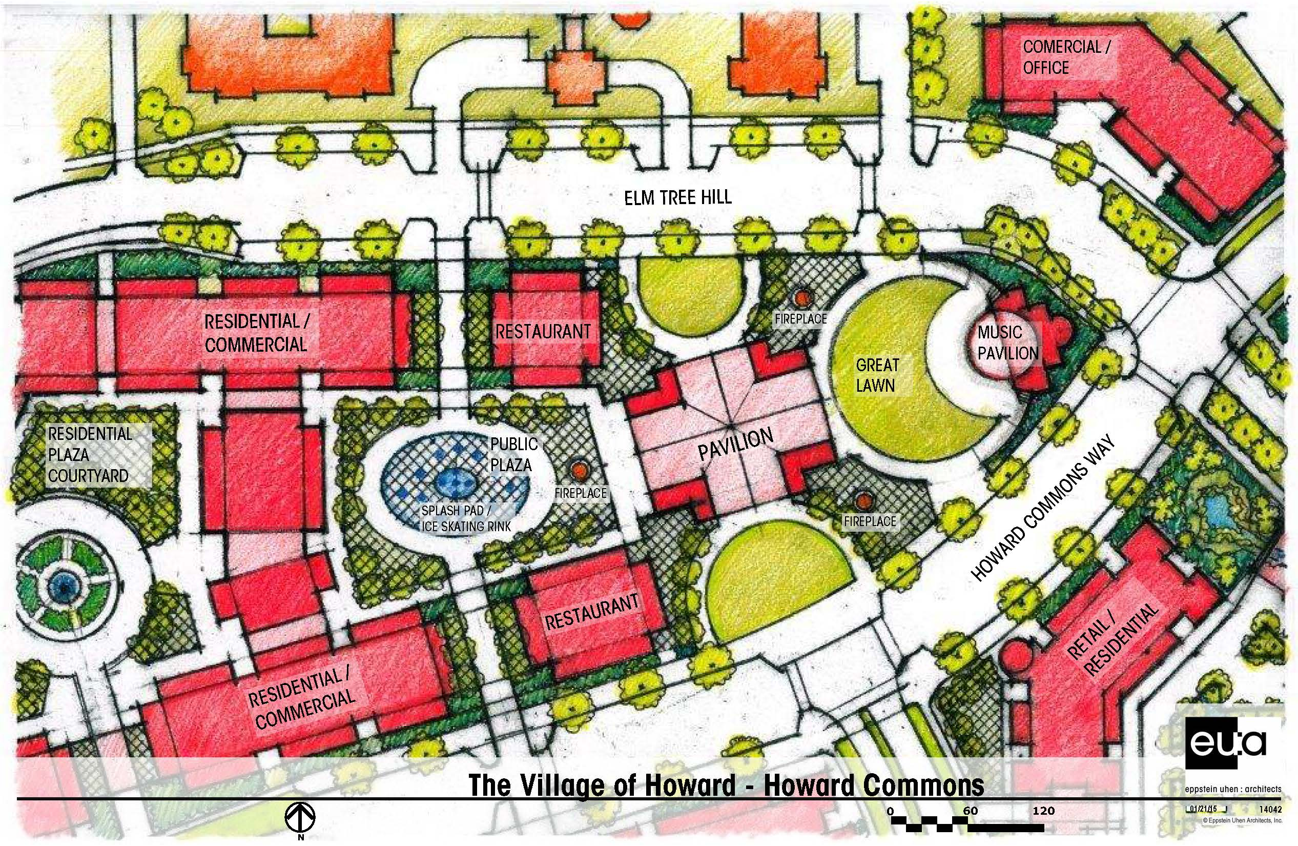 Village Center layout