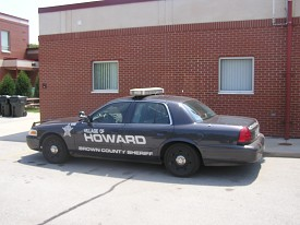Village of Howard Sheriff's Cruiser