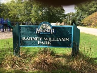 Barney Williams Park sign