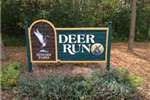 Deer Run Park sign